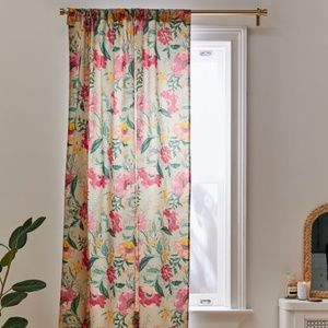 Urban Outfitters Poppy Blackout Window Curtain